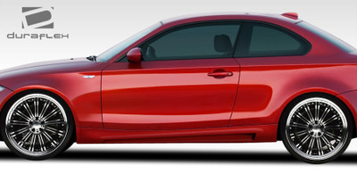 BMW 1 Series 2DR M Sport Look Duraflex Side Skirts Body Kit 2008-2013