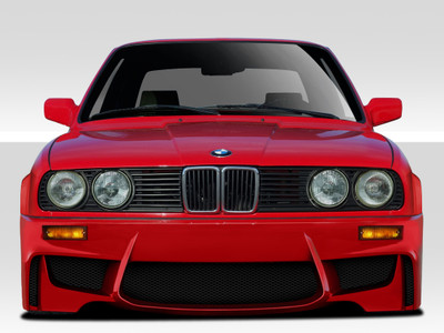BMW 3 Series 1M Look Duraflex Front Body Kit Bumper 1984-1991