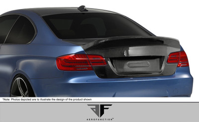 BMW 3 Series 2DR AF-1 Aero Function Body Kit-Trunk/Hatch 2007-2013