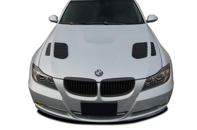 BMW 3 Series 4DR AF-1 Aero Function (GFK) Body Kit- Hood 2006-2008