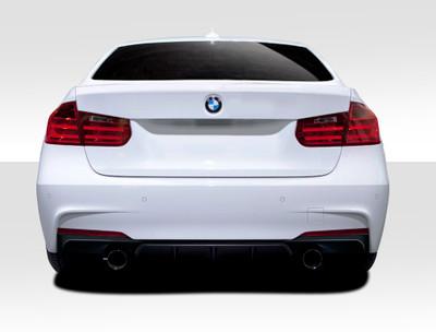 BMW 3 Series M Performance Look Duraflex Rear Diffuser 2012-2015