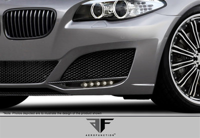 BMW 5 Series 4DR AF-3 Aero Function Front Add On Body Kit 2011-2015