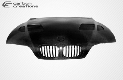 BMW 5 Series 4DR GT-R Carbon Fiber Creations Body Kit- Hood 1997-2003