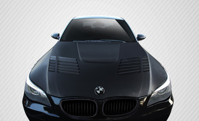 BMW 5 Series 4DR GT-R Look Carbon Fiber Creations Body Kit- Hood 2004-2010