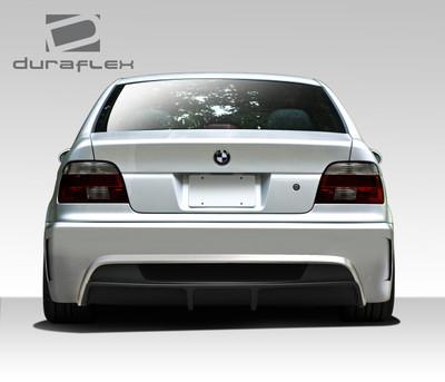 BMW 5 Series 4DR GT-S Duraflex Rear Body Kit Bumper 1997-2003