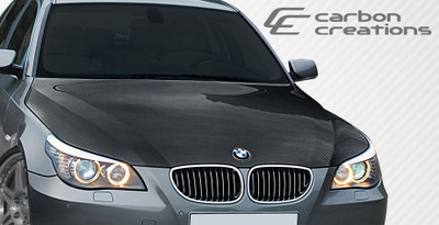 BMW 5 Series 4DR OEM Carbon Fiber Creations Body Kit- Hood 2004-2008