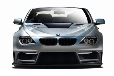 BMW 6 Series 2DR AF-2 Aero Function Front Wide Body Kit Bumper 2004-2010