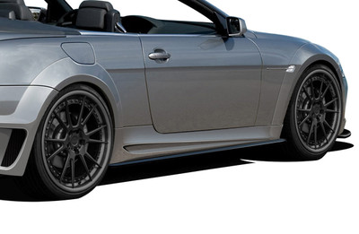 BMW 6 Series 2DR AF-2 Aero Function Side Skirts for Wide Body Kit 2004-2010