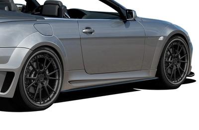 BMW 6 Series 2DR AF-2 Aero Function Wide Fender Flares 2004-2010