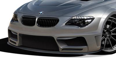 BMW 6 Series 2DR AF-2 Aero Function Wide Front Bumper Lip Body Kit 2004-2010