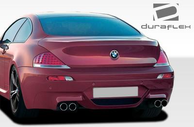 BMW 6 Series Convertible M6 Look Duraflex Rear Body Kit Bumper 2004-2010