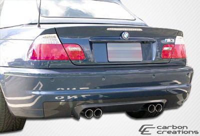 BMW M3 2DR CSL Look Carbon Fiber Creations Rear Diffuser 2001-2006