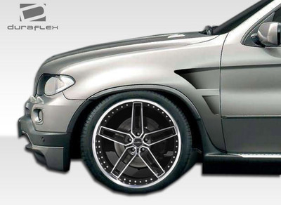BMW X5 Executive Duraflex Body Kit- Fenders 2004-2006