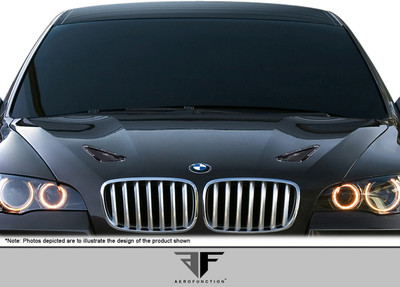 BMW X6 AF-1 Aero Function Hood Vents 2008-2014