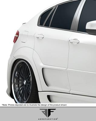 BMW X6 AF-3 Aero Function Body Kit- Wide Rear Fenders 2008-2014