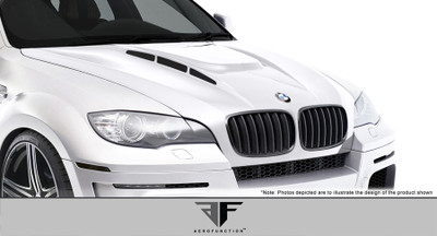 BMW X6 AF-5 Aero Function (GFK) Body Kit- Hood 2008-2014