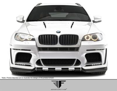 BMW X6 AF-5 Aero Function Front Wide Body Kit Bumper 2008-2014