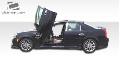 Cadillac CTS Platinum Duraflex Side Skirts Body Kit 2003-2007