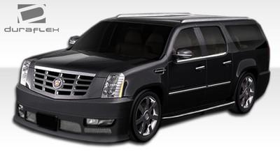 Cadillac Escalade Platinum Duraflex Front Bumper Lip Body Kit 2007-2014