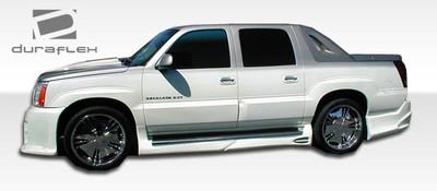 Cadillac Escalade Platinum Duraflex Side Skirts Body Kit 2002-2006