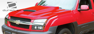Chevy Avalanche Ram Air Duraflex Body Kit- Hood 2002-2006