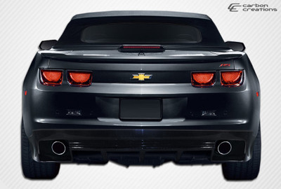 Chevy Camaro GM-X Carbon Fiber Creations Rear Body Kit Bumper 2010-2013
