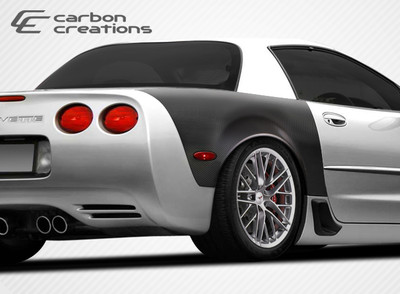 Chevy Corvette 2DR ZR Edition Carbon Fiber Creations Body Kit- Fenders 1997-2004