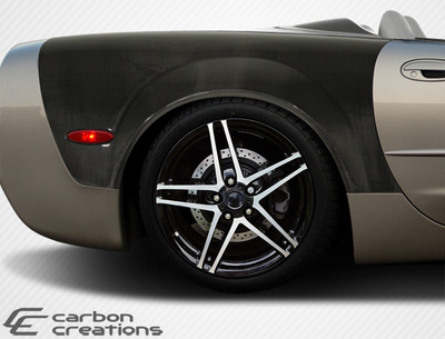 Chevy Corvette Convertible ZR Edition Carbon Fiber Body Kit- Fenders 1997-2004