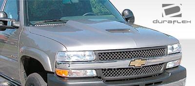Chevy Silverado Ram Air Duraflex Body Kit- Hood 1999-2002