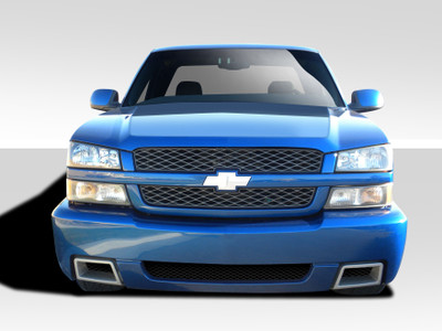 Chevy Silverado SS Look Duraflex Front Body Kit Bumper 2002-2006