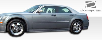 Chrysler 300 VIP Duraflex Side Skirts Body Kit 2005-2010
