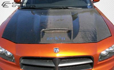 Dodge Charger SRT Look Carbon Fiber Creations Body Kit- Hood 2006-2010