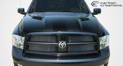 Dodge Ram MP-R Carbon Fiber Creations Body Kit- Hood 2009-2015