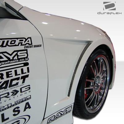 Fits Hyundai Genesis 2DR Hot Wheels Duraflex Body Kit- Fenders 2010-2015