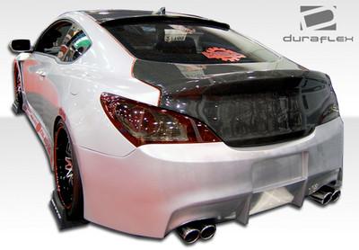 Fits Hyundai Genesis 2DR Hot Wheels Duraflex Rear Body Kit Bumper 2010-2015