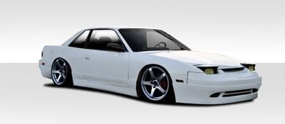 Fits Nissan 240SX 2DR Supercool Duraflex Full Body Kit 1989-1994