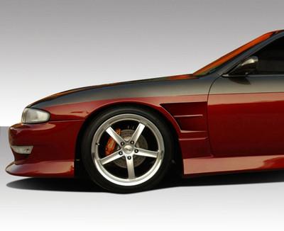 Fits Nissan 240SX B-Sport Duraflex Body Kit- Fenders 1995-1996