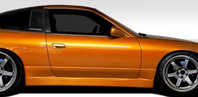 Fits Nissan 240SX Supercool Duraflex Side Skirts Body Kit 1989-1994