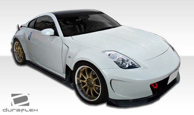 Fits Nissan 350Z 2DR AM-S Duraflex Full 11 Pcs Wide Body Kit 2003-2009