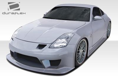 Fits Nissan 350Z 2DR J-Spec 2 Duraflex Full Body Kit 2003-2008