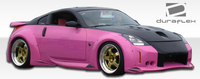 Fits Nissan 350Z 2DR Vader 3 Duraflex Full Wide Body Kit 2003-2008