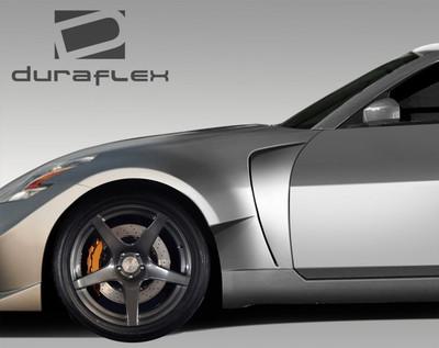 Fits Nissan 350Z AM-S Conversion Duraflex Body Kit- Fenders 2003-2008