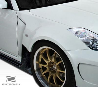 Fits Nissan 350Z AM-S Duraflex Body Kit- Wide Fenders 2003-2009