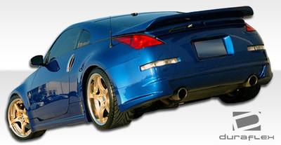 Fits Nissan 350Z AM-S Duraflex Rear Body Kit Bumper 2003-2008