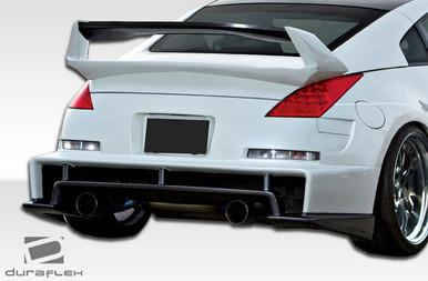 Fits Nissan 350z Am S Duraflex Rear Diffuser 2003 2009
