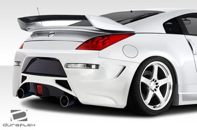 Fits Nissan 350Z AM-S GT Duraflex Rear Body Kit Bumper 2003-2008