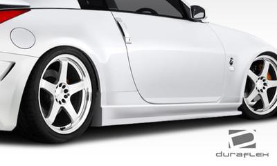 Fits Nissan 350Z AM-S GT Duraflex Side Skirts Body Kit 2003-2008