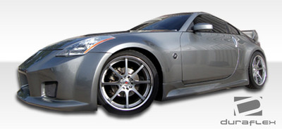 Fits Nissan 350Z B-2 Duraflex Side Skirts for Wide Body Kit 2003-2008