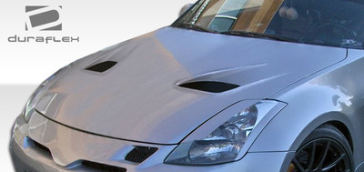 Fits Nissan 350Z TS-1 Duraflex Body Kit- Hood 2003-2006