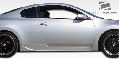 Fits Nissan Altima 2DR Racer Duraflex Side Skirts Body Kit 2008-2012
